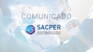 Comunicado SACPER 15 de Abril de 2021