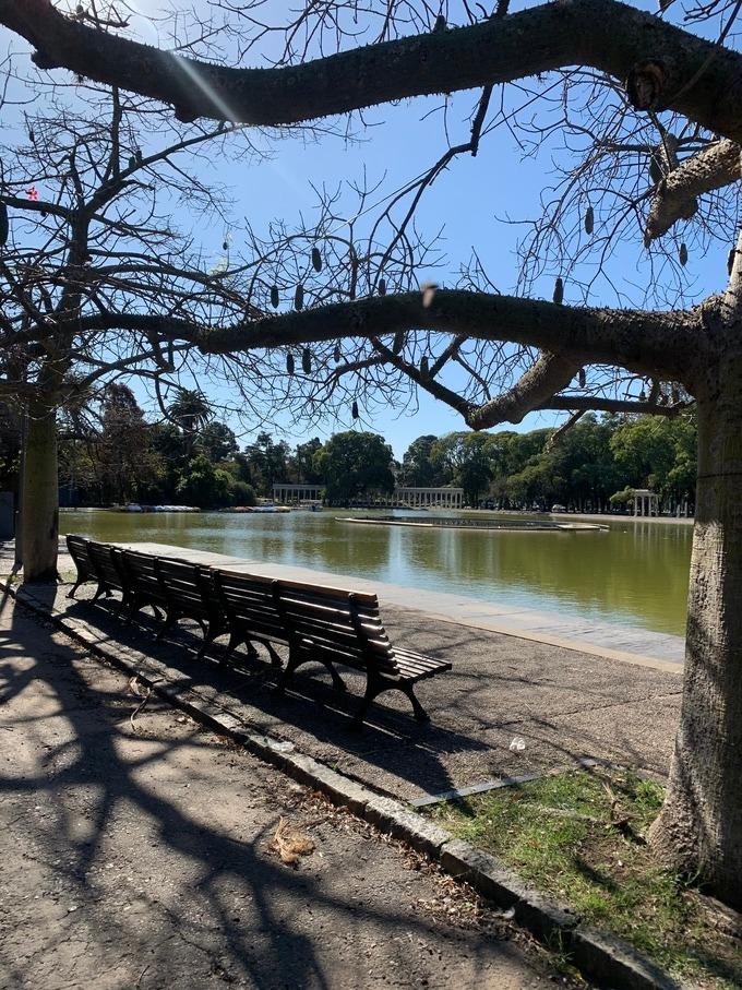 El Laguito, Parque de la Independencia, Rosario